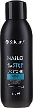 Parfémy, Parfumerie, kosmetika Tekutina pro odstranění gel-laku - Silcare Nailo Aceton