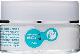 Parfémy, Parfumerie, kosmetika Akrylový pudr na nehty, 72 g - Silcare Sequent Acryl Pro