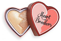 Parfémy, Parfumerie, kosmetika Rozjasňovač - I Heart Revolution Heart Breakers Powder Highlighter