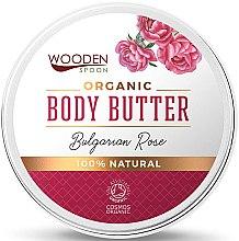 Parfémy, Parfumerie, kosmetika Olej na tělo Bulharské růže - Wooden Spoon Bulgarian Rose Body Butter