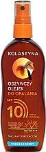 Parfémy, Parfumerie, kosmetika Olej ve spreji opalovací voděodolný s SPF 10 - Kolastyna