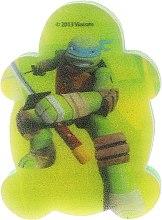 Parfémy, Parfumerie, kosmetika Dětská koupelová houba Želvy ninja Leonardo 2 - Suavipiel Turtles Bath Sponge