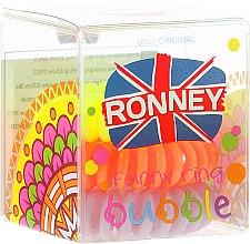 Parfémy, Parfumerie, kosmetika Gumičky na vlasy, 3,5 cm - Ronney Professional S4 MAT