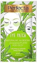 Parfémy, Parfumerie, kosmetika Náplastí pod oči - Perfecta Eye Patch Aloe & Vitamins