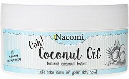 """Parfémy, Parfumerie, kosmetika Olej """"Kokosový, rafinovaný"""" - Nacomi Coconut Oil 100% Natural Refined"""