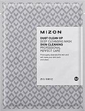 Parfémy, Parfumerie, kosmetika Čistící látková maska na obličej - Mizon Dust Clean Up Deep Cleansing Mask