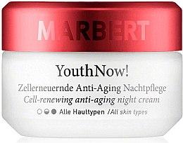 Parfémy, Parfumerie, kosmetika Noční krém proti stárnutí - Marbert YouthNow! Cell-Renewing Antiaging Night Care