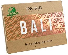 Parfémy, Parfumerie, kosmetika Paleta bronzerů na obličej - Ingrid Cosmetics Bali Bronzing Palette