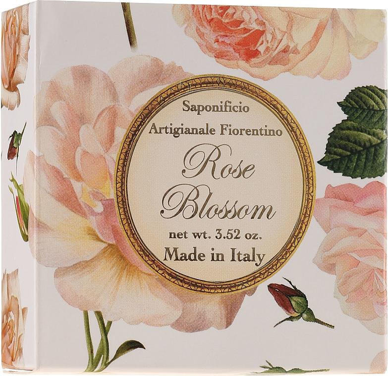 Mýdlo přírodní Růže - Saponificio Artigianale Fiorentino Rose Blossom Soap