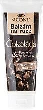 "Parfémy, Parfumerie, kosmetika Balzám na ruce ""Čokoláda"" - Bione Cosmetics Chocolate Hand Restorative Balm"