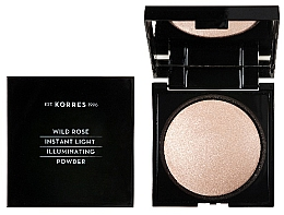 Parfémy, Parfumerie, kosmetika Pleťový pudr - Korres Wild Rose Instant Light Illuminaring Power