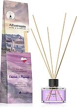 """Parfémy, Parfumerie, kosmetika Aromatický difuzér """" Levandule z Provence"""" s tyčinkami - Allverne Home&Essences Diffuser"""