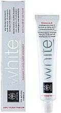 Parfémy, Parfumerie, kosmetika Bělicí zubní pasta s tmelem a propolisem - Apivita Healthcare Natural Dental Care White Whitening Toothpaste With Mastic & Propolis