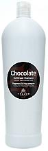 """Parfémy, Parfumerie, kosmetika Šampon pro suché a poškozené vlasy """"Čokoláda"""" - Kallos Cosmetics Chocolate Full Repair Shampoo"""