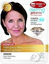 Parfémy, Parfumerie, kosmetika Maska na obličej - Dermo Pharma Skin Repair Expert Lifting Anti Aging Mask 4D