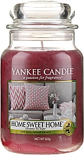 "Parfémy, Parfumerie, kosmetika Aromatická svíčka ""Domácí sladký domov"" - Yankee Candle Home Sweet Home"