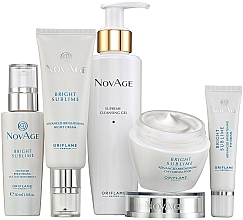 Parfémy, Parfumerie, kosmetika Sada - Oriflame NovAge Bright Sublime (gel/200ml+eye/cr/15ml+ser/30ml+d/cr/50ml+n/cr/50ml)