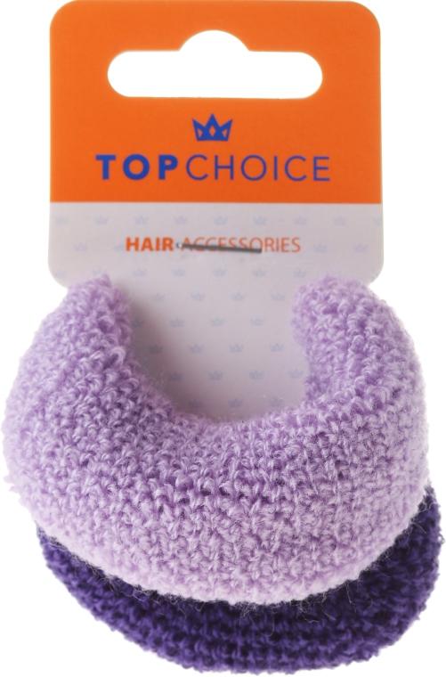 Gumičky do vlasů, fialové mix - Top Choice