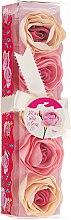 Parfémy, Parfumerie, kosmetika Konfety do koupele Růže, 5ks. - Spa Moments Bath Confetti Rose