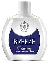 Parfémy, Parfumerie, kosmetika Breeze Sporting - Parfémovaný deodorant