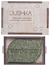Parfémy, Parfumerie, kosmetika Tvrdý šampon mini pro posílení a růst vlasů - Dushka