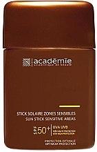 Parfémy, Parfumerie, kosmetika Ochranná tyčinka na citlivá místa - Academie Sun Stick Sensitive Areas SPF 50+