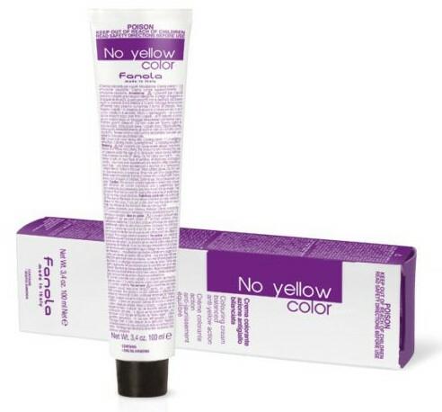 Tónovací krémová barva na vlasy - Fanola No Yellow Color Toner (Rose)