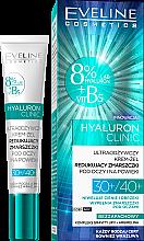 Parfémy, Parfumerie, kosmetika Krém-gel pro oblast pod očima - Eveline Cosmetics Hyaluron Clinic 30+/40+