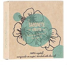 "Parfémy, Parfumerie, kosmetika Přírodní mýdlo ""Fialka"" - Essencias De Portugal Senses Violet Soap With Olive Oil"