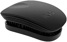 Parfémy, Parfumerie, kosmetika Kartáč na vlasy - Ikoo Pocket Black Brush
