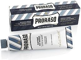 Parfémy, Parfumerie, kosmetika Krém na holení s aloe a vitamínem E - Proraso Blue Shaving Cream