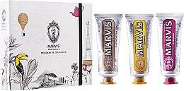 "Parfémy, Parfumerie, kosmetika Sada ""Wonders of the World"" - Marvis Set (toothpaste/3x25ml)"