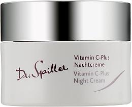 Parfémy, Parfumerie, kosmetika Pleťový krém, noční - Dr. Spiller Vitamin C-Plus Night Cream
