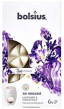 "Parfémy, Parfumerie, kosmetika Vonný vosk ""Levandule a heřmánek"" - Bolsius True Moods So Relaxed Lavender & Chamomile"