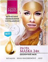 """Parfémy, Parfumerie, kosmetika Maska na obličej """"Zlatá"""" - Czyste Piekno Gold Face Mask"""