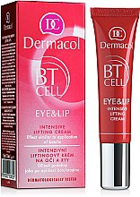 Parfémy, Parfumerie, kosmetika Intenzivní krém-lifting na oči a rty - Dermacol BT Cell Eye&Lip Intensive Lifting Cream