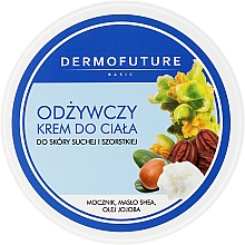 Parfémy, Parfumerie, kosmetika Výživný krém na tělo pro suchou a hrubou pleť - DermoFuture