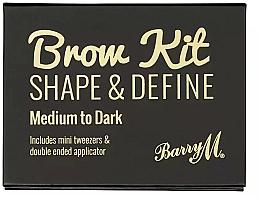 Parfémy, Parfumerie, kosmetika Sada na upravu obočí - Barry M Brow Kit