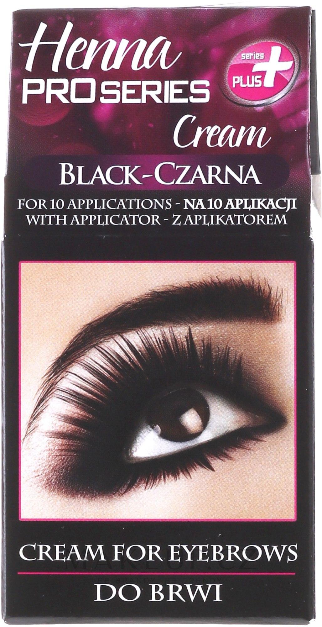 Barva na obočí - Henna — foto 1 - Black