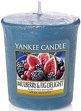 Parfémy, Parfumerie, kosmetika Aromatická svíčka - Yankee Candle Mulberry and Fig Delight Votive