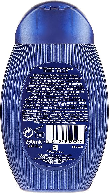 Šampon a sprchový gel Coll Blue - Paglieri Felce Azzurra Shampoo And Shower Gel For Man — foto N2