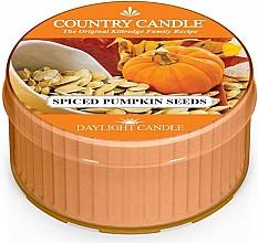 Parfémy, Parfumerie, kosmetika Čajová svíčka - Country Candle Spiced Pumpkin Seeds Daylight