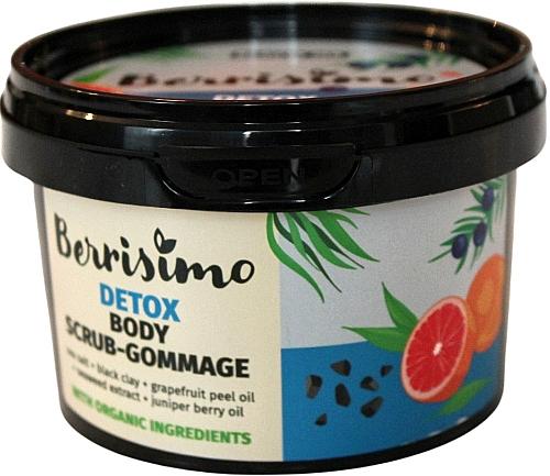 Tělový peeling-gomáž - Berrisimo Detox Body Scrub-Gommage
