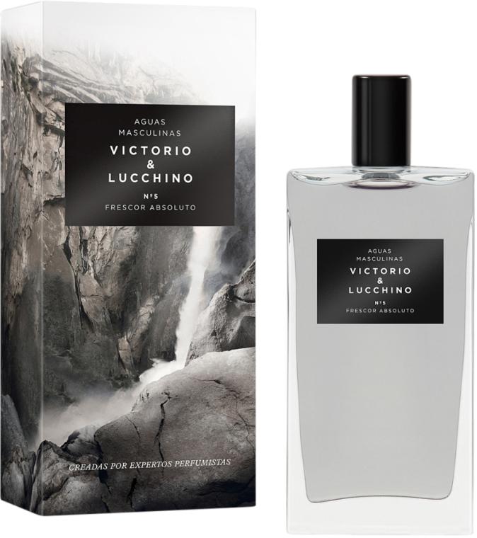 Victorio & Lucchino Aguas Masculinas No 5 Frescor Absoluto - Toaletní voda