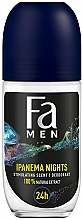 Parfémy, Parfumerie, kosmetika Kuličkový deodorant pro muže Ipanema Nights - Fa Men Ipanema Nights Deo Roll On