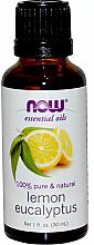 Esenciální olej Citron, eukalyptus - Now Foods Essential Oils 100% Pure Lemon Eucalyptus — foto N1