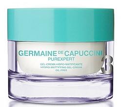 Parfémy, Parfumerie, kosmetika Gel-krém na obličej s hydromatujícím efektem - Germaine de Capuccini Purexpert Oil-Free Hydro-Mat Gel-Cream
