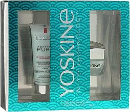 Parfémy, Parfumerie, kosmetika Sada - Yoskine Okinava Green Caviar 50+ (cr/50ml + peeling/75ml)