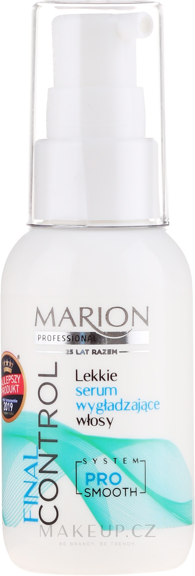 Sérum pro vyhlazení vlasů - Marion Final Control — foto 50 ml