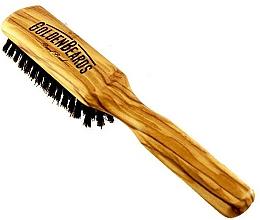 Parfémy, Parfumerie, kosmetika Kartáč na vousy, 20 cm - Golden Beards Beard Brush
